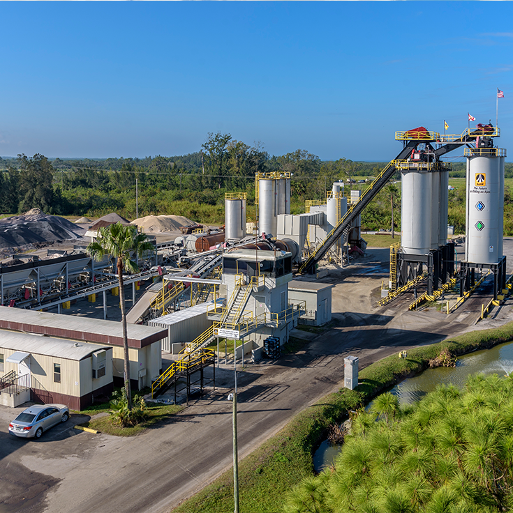 AJAX Paving of Florida Asphalt Plants - COX6486