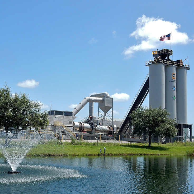AJAX Paving of Florida Asphalt Plants - Plant-1-North-Venice