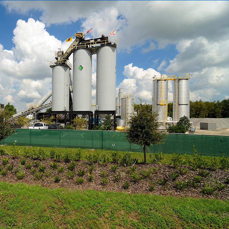 AJAX Paving of Florida Asphalt Plants - Plant-5-Odessa