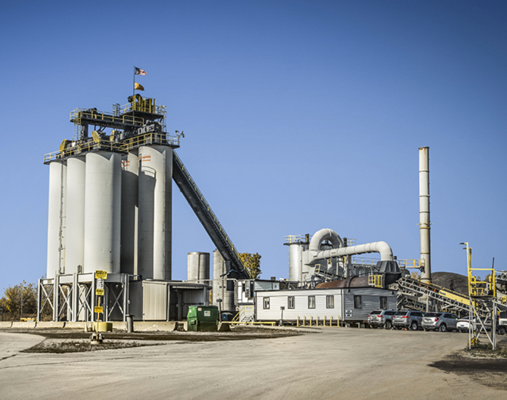 Asphalt Plants in Michigan - AJAX Paving - plant-new-haven
